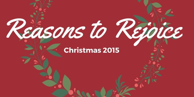 Reasons to Rejoice: A New Book Coming in May 2016