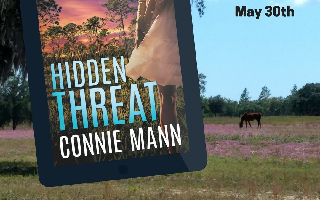 Fabulous Goodreads Giveaway of HIDDEN THREAT