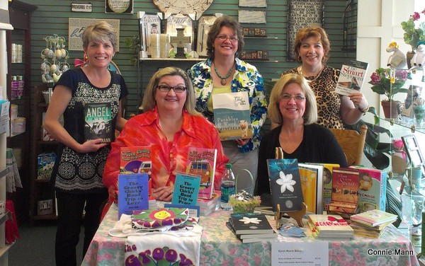 Booksigning with Connie Mann