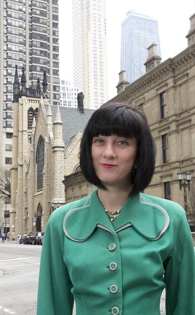 Jamie Janosz in her beloved Chicago