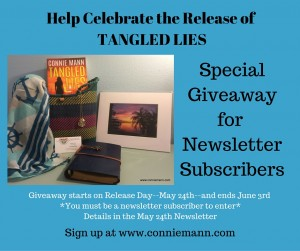 Tangled Lies giveaway