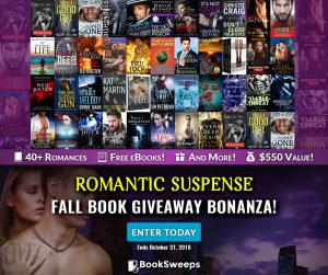 Romantic Suspense Giveaway including DEADLY MELODY